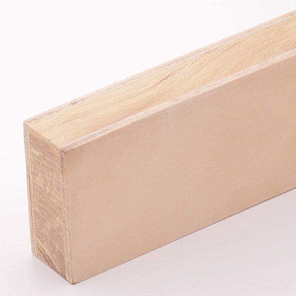 Доска для финишной правки 135х55х30мм кожа чепрак 3мм 2