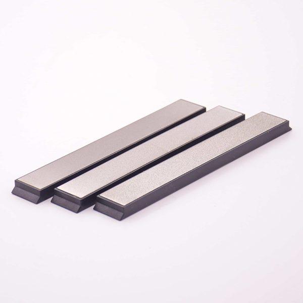 Комплект алмазных брусков DMD tools 240, 600, 1000 грит, 22 мм