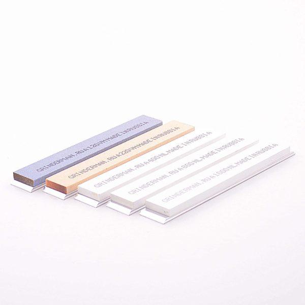Комплект абразивных брусков из оксида алюминия GRINDERMAN 25 мм (ОА)