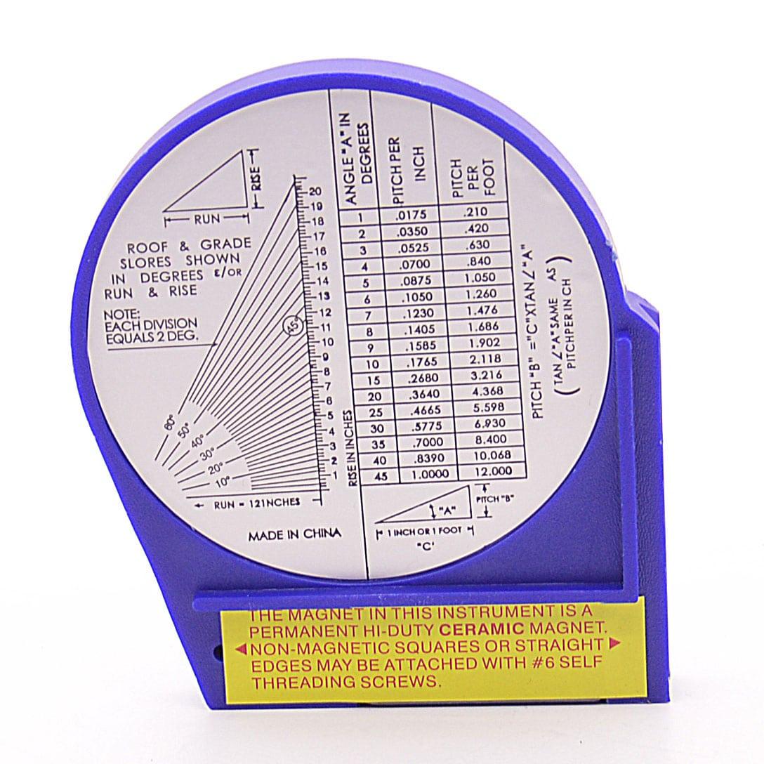Угломер механический маятниковый с магнитным основанием 3