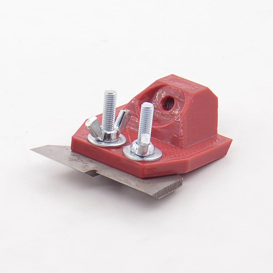 Держатель для заточки ножей ледобура на точилке ЖУК 8