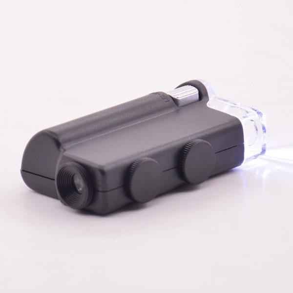 Карманный цифровой микроскоп 60-100х с подсветкой 2