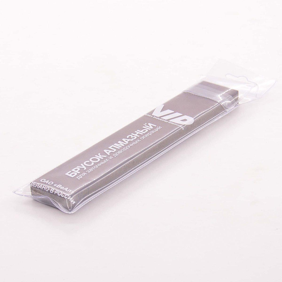 Алмазный 2-х сторонний брусок Венев 3/2-1/0 С25%, 200х35х10 мм