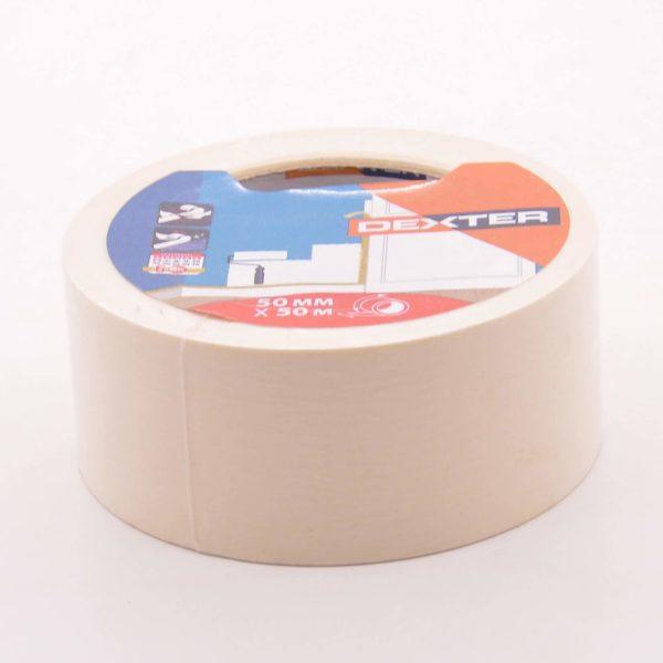 Малярная клейкая лента 50мм*50м, DEXTER 2